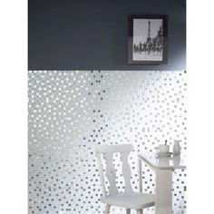 Mosaïque verre mix inox 32 x 32 cm Decor, Wall Lights, Home Decor Decals, Deco, Wall, Home Decor, Kitchen, Bathroom, Inspiration