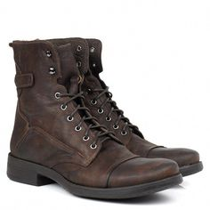 d8cf8c5a9 In Fashion Mens Clothes #MensFashionCheapOnline Key: 8457855658 Botas  Marrons Masculinas, Coturno Masculino,