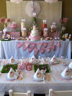 amazing ideas for little girls birthday or girl baby shower!