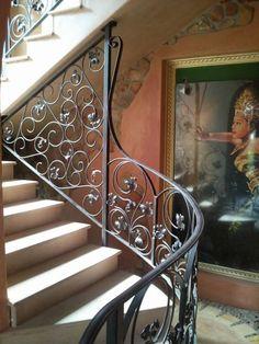 We manufacturedecorative or plain Gates, Staircase Design, Stairways, Blacksmithing, Wrought Iron, Modern Design, Beautiful, The Originals, Classic