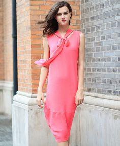 ce431d1250cdd A5768 (1). VOA silk custom · Street style · A5538 (2) Summer Dresses 2017  ...