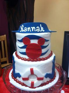Disney Cruise Cake Birthday ideas Pinterest Cake