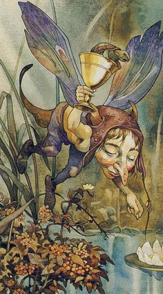 The images from the Elfenzauber Tarot / Enchanted Tarot are mapped by kind permission of Lo Scarabeo.