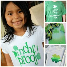 100% Pinch Proof :10 DIY St. Patrick's Day T-shirts