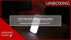 Infos LED-Multifunktionsleuchte - Unboxing Planet In China, Led, Video News, Videos, Planets, Video Clip