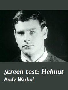 Screen test: Helmut (1964) EEUU. Dir: Andy Warhol. Documental. Curtametraxes - DVD CINE 1106