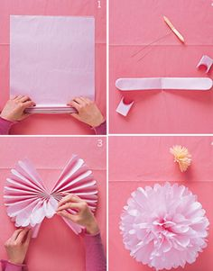 If you are try to find DIY Pom Pom cheerleader tissue paper you've come to the right place. We have 32 images about DIY Pom Pom cheerl. Diy Pompon, Diy And Crafts, Crafts For Kids, Family Crafts, Arts And Crafts For Teens, Party Crafts, Tissue Pom Poms, Tissue Flowers, Diy Flowers