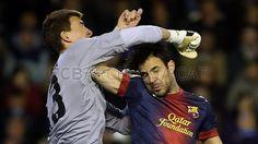 Cesc Fábregas, FC Barcelona | Valencia 1-1 FC Barcelona. 2013-02-03.