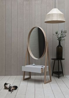 Iona Cheval Mirror by Pinch Design. http://www.pinchdesign.com/iona.htm
