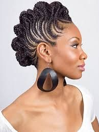 Image result for mohawk cornrow hairstyles