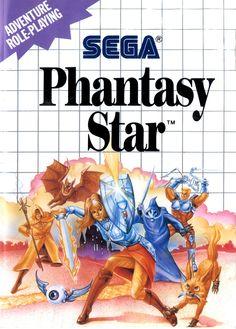 Les pires illustrations de boîtes de l'histoire du jeu vidéo : Phantasy Star sur Sega Master System