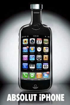 iPhone Wallpaper...(Absolute Vodka)