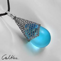 Turquoise in con from Caltha jewellery by DaWanda.com