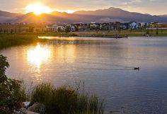 Summer Sunset in Daybreak Utah