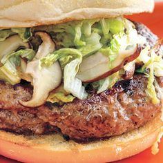 Five-Spice Burgers with Warm Mu Shu Slaw Topping (2 tsp 5 spice?)