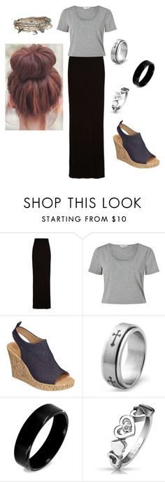 """""""Untitled #290"""" by verdineats on Polyvore featuring Enza Costa, Miss Selfridge, Aerosoles, West Coast Jewelry and Aéropostale"""