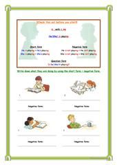 REVIEWING THE PRESENT - GERUND OR INFINITIVE worksheet - Free ESL printable worksheets made by teachers
