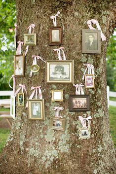 Family tree - Rustic Chic Maryland Farmhouse Wedding by Karson Butler Events (Planner) + Katelyn James Photography