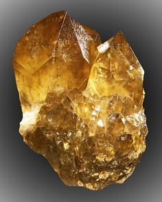 Yellow Citrine from the Congo