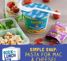 Lunch prep made easy: Swap your pasta prep time for ready-to-go