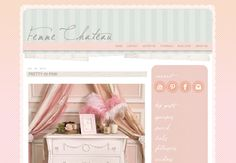 Femme Chateau Blogger Template
