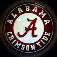 Original text: I hate this. Crimson Tide Football, Alabama Football, Alabama Crimson Tide, Tide Logo, College Game Days, University Of Alabama, Roll Tide, Football Season, My Love