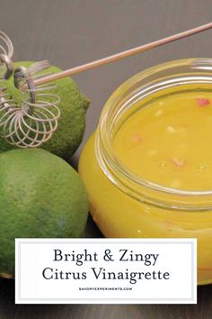 This refreshing Citrus Vinaigrette Recipe is so easy and can be used for salad, a marinade, and even as a dipping sauce for grilled veggies! Vinegar Salad Dressing, Salad Dressing Recipes, Salad Recipes, Salad Dressings, Drink Recipes, Citrus Chicken Marinade, Fish Marinade, Citrus Vinaigrette, Side Dishes