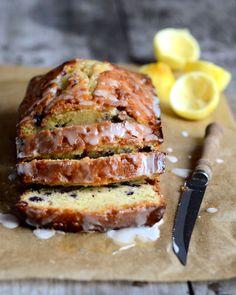 blueberry lemon drizzle bread