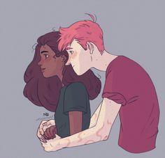 Natello's Art - Hermione & Ron