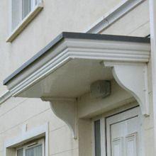 GRP Flat Door Canopies
