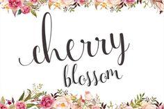 Cherry Blossom (30% Off) by Genesis Lab on @creativemarket