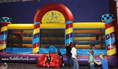 Pump It Up Anaheim Hills, CA #OrangeCounty #FamilyFun #BirthdayPartyIdeas