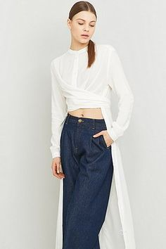 Rodebjer Art Wrap Shirt - Urban Outfitters
