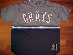 J-Head NLBM 1929-1948 Homestead Grays  20 Black Pullover Baseball Jersey 2XL f4ad95f936