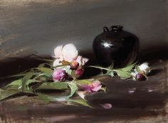 Peonies by Sherrie Mcgraw | Oil | LegacyGallery.com