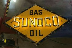 Sunoco Gas & Oil Neon Sign
