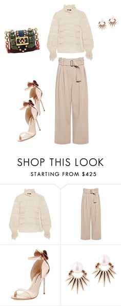 """""""Details"""" by williamsnl ❤ liked on Polyvore featuring Isabel Marant, A.L.C., Sophia Webster, Joana Salazar and Burberry"""