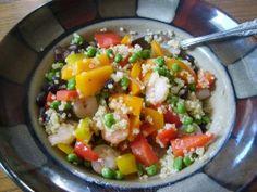 Shrimp & Quinoa stir fry