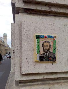 Street art near the hôtel.