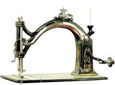 The first Husqvarna sewing machine 1872