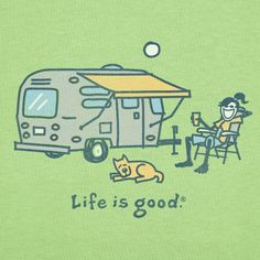 Travel trailer camping without hookups t-shirts
