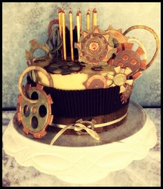 Image result for steampunk cupcake for a boy