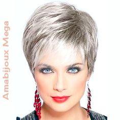Amabijoux Mega: Cabelos Femininos: Cor Cinza e Seus Tons