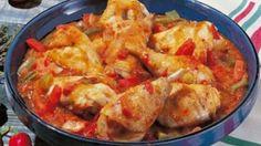 Poulet Basquaise au cookeo
