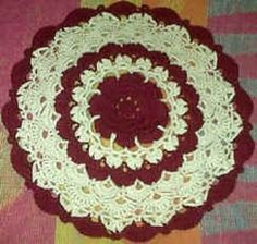 Ravelry: Rose & Shell Doily pattern by Gem Owen