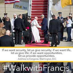 Let us help others to grow as we would like to be helped ourselves. - @Pontifex #WalkwithFrancis
