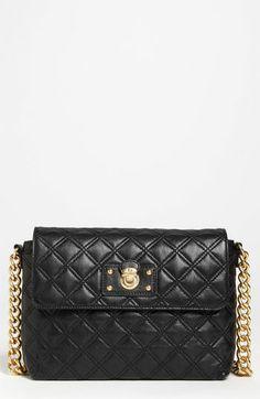 MARC JACOBS 'Quilting - Large Single' Leather Shoulder Bag | Nordstrom