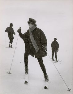Meet the Beatles for Real: Trying to ski