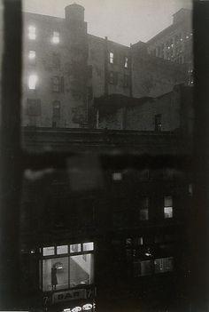 Tenth Street At Night, 1960, John Cohen