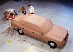 1984 Mercedes-Benz Series - — [EN] Project began in 1977 and designed by Peter Pfeiffer (left) and Joseph Gallitzendörfer (middle) under. Mercedes Benz 200, Mercedes E Class, Automobile, Limousine, Design Process, Cars And Motorcycles, Diecast, Classic Cars, Clay